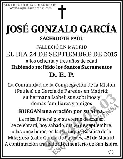 José Gonzalo García